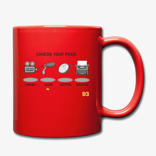 Sound/Black- Choose Your Mode - Full Colour Mug
