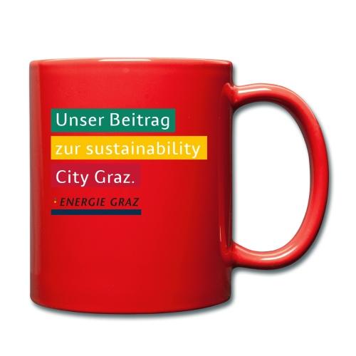 Energie Graz Vision - Tasse einfarbig