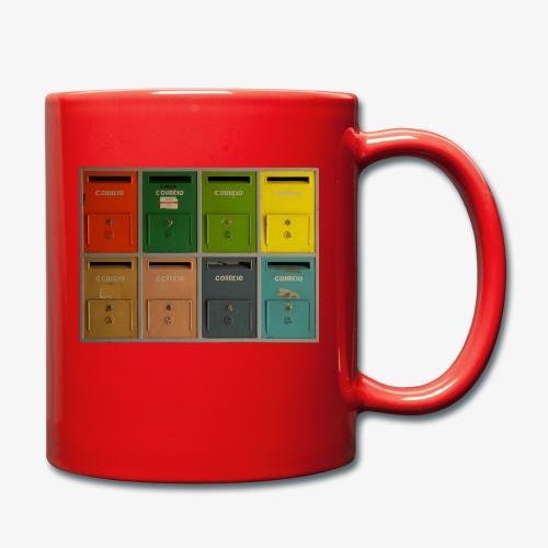 Briefkasten - Tasse einfarbig