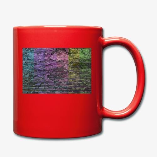 Regenbogenwand - Tasse einfarbig