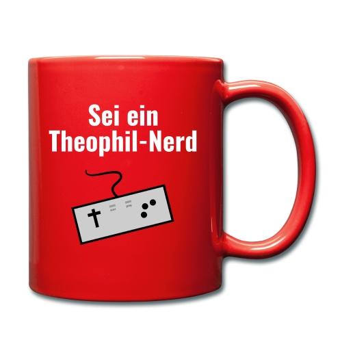 Sei ein Theophil-Nerd Shirt - Tasse einfarbig