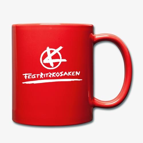 Feistritzkosaken Logo hell - Tasse einfarbig