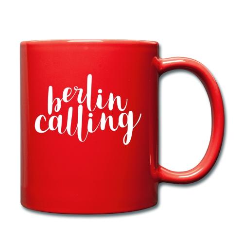 Berlin Calling - Tasse einfarbig