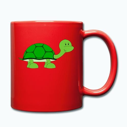 Totte Turtle - Appelsin - Enfärgad mugg