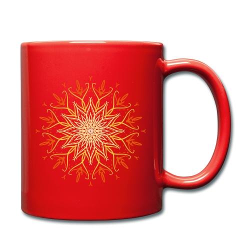 Mandala of fire - Full Colour Mug