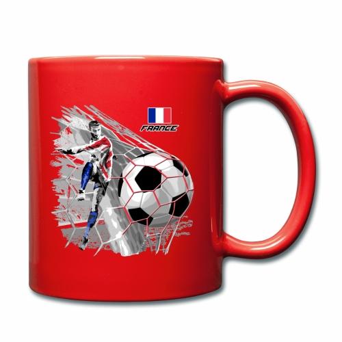 FP22F 03 FRANCE FOOTBALL - Yksivärinen muki