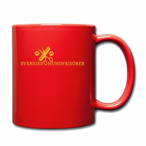 SVHFs rektangulära logo - Enfärgad mugg