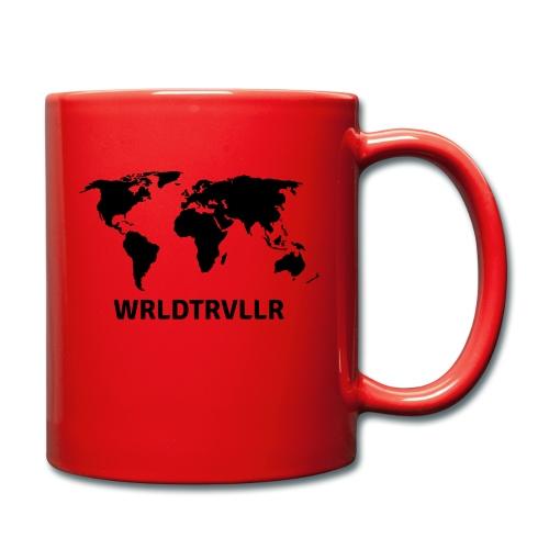 Worldtraveller - Tasse einfarbig