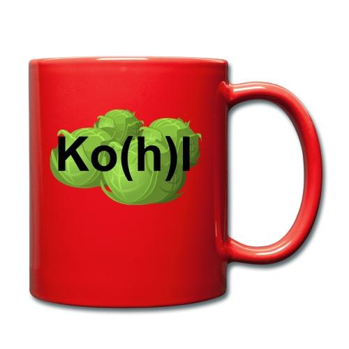 Ko(h)l - Tasse einfarbig