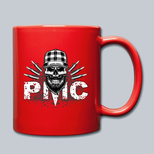 PMC Skull white - Tasse einfarbig