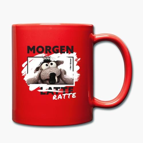 Rolf Rüdiger Morgenratte - Tasse einfarbig