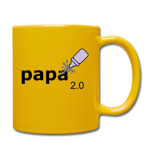 Papa_2-0 - Tasse einfarbig