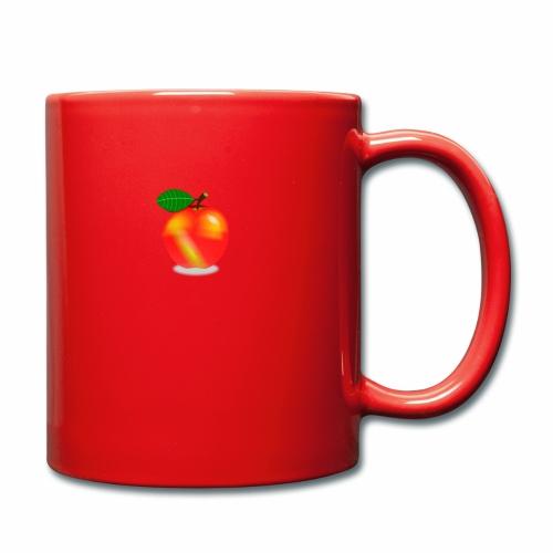 Apfel - Tasse einfarbig