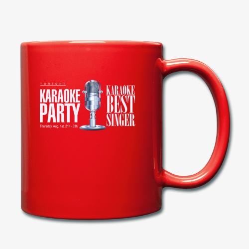 Karaoke party - Taza de un color