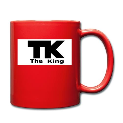 The King med ram - Enfärgad mugg