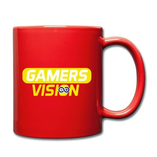 GamersVisionlogogeel - Mok uni