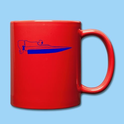 powerboat GT30/GT15 Blue - Enfärgad mugg