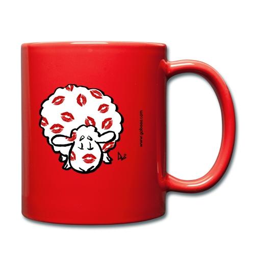 Kuss Mutterschaf - Tasse einfarbig