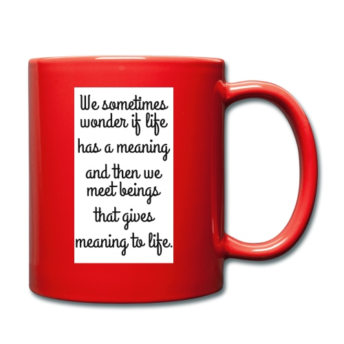 Phrase d'amour en anglais - Mug uni