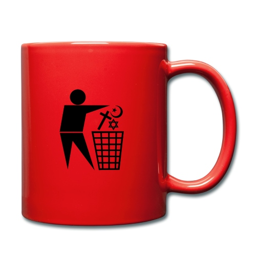 Anti Religion # 1 - Full Colour Mug