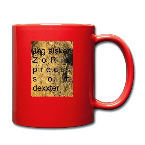 jag älskar dexxter - Enfärgad mugg