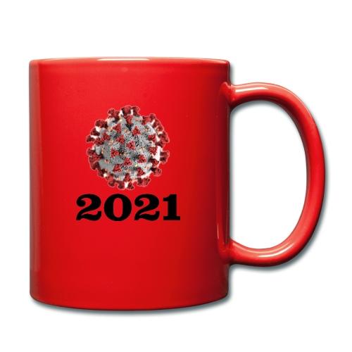 Virus 2021 - Tasse einfarbig