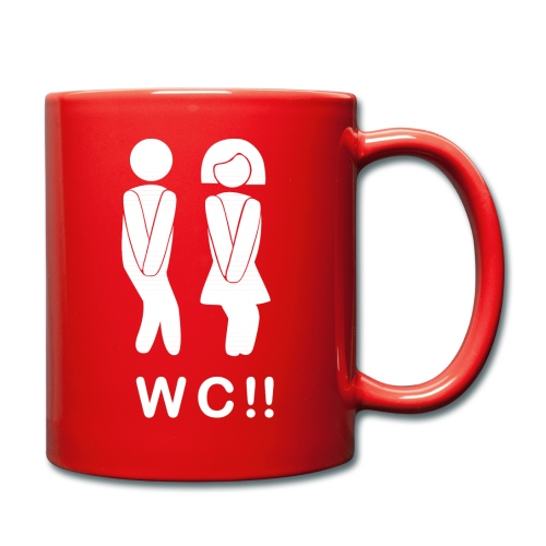 wc!! - Taza de un color