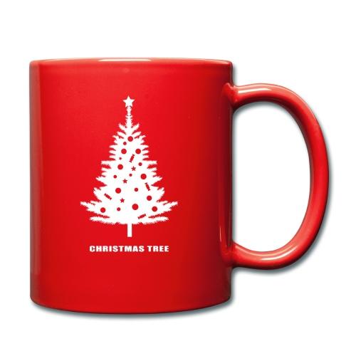 christmas tree, christmas, new year, rockefeller - Full Colour Mug