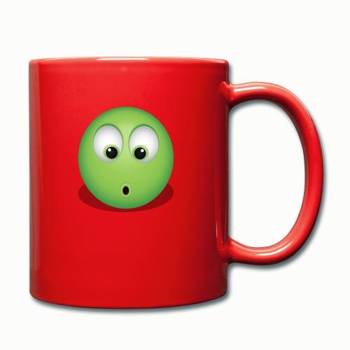 Verwundert - Tasse einfarbig