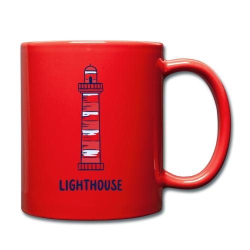 Lighthouse - Tasse einfarbig