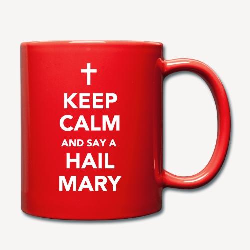 MUG - KEEP CALM HAIL MARY - Full Colour Mug