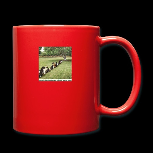 Auswirkung auf Abholzung :-) - Tasse einfarbig