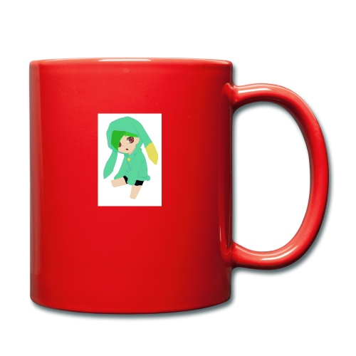 Green haired SkaiLaPie pillow - Full Colour Mug