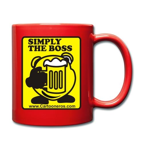 Simply the Boss - Full Colour Mug