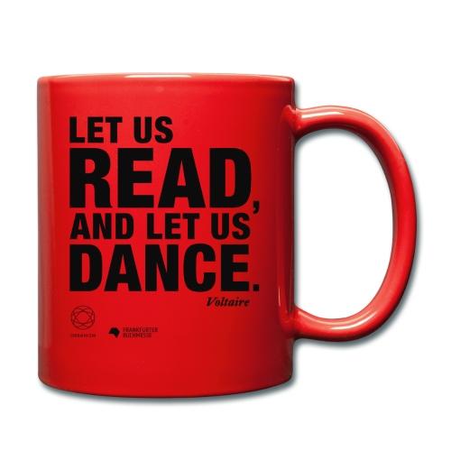 LET US READ   Bookish Merch - Tasse einfarbig