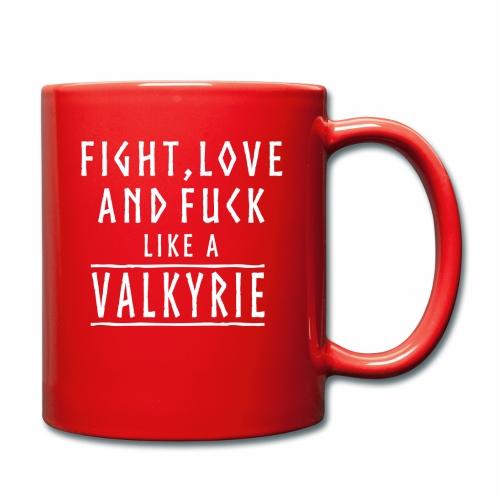Like a valkyrie - Taza de un color