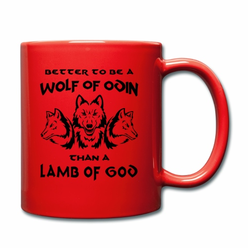Wolf of Odin - Taza de un color