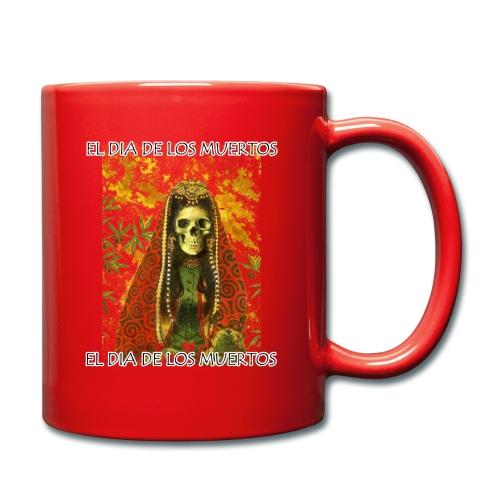 El Dia De Los Muertos Skeleton Design - Full Colour Mug
