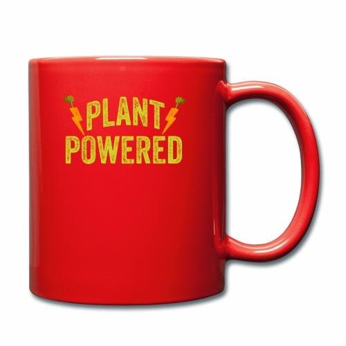 Plant Powered T-Shirt Veganer T-Shirt Geschenk - Tasse einfarbig