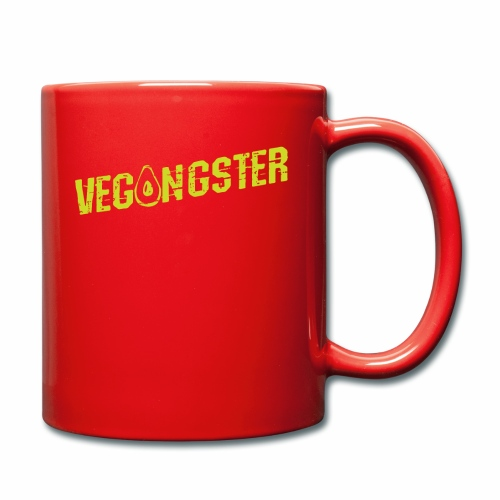 Vegangster Shirt Veganer T-Shirt Geschenk - Tasse einfarbig