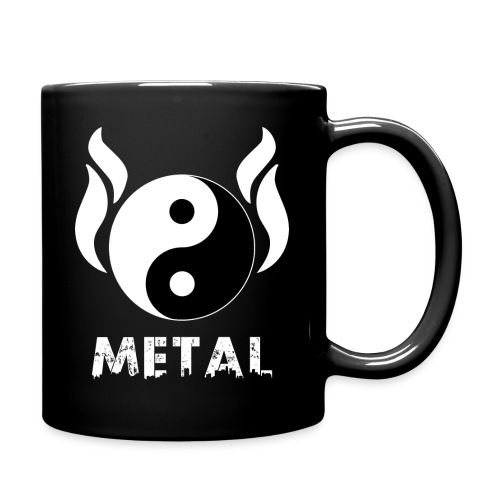 YIN YANG METAL - Tasse einfarbig