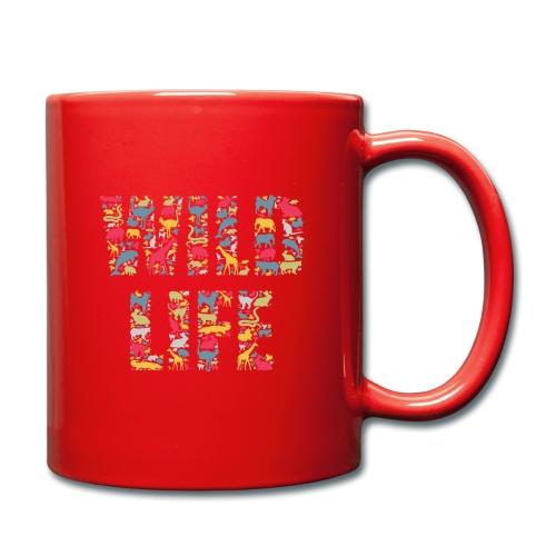 Wild Life - Tasse einfarbig