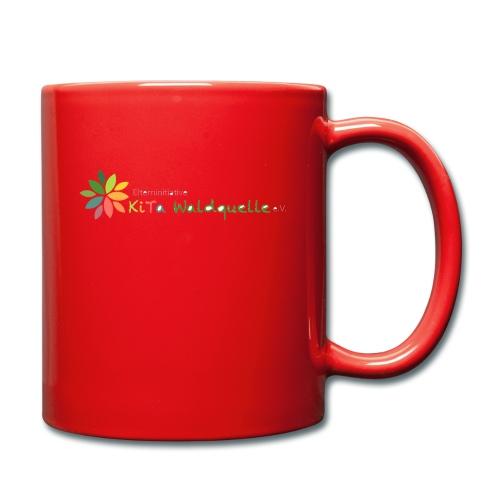 Logo Kita Komplett - Tasse einfarbig