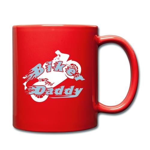 Motorrad Papa Vater Biker Daddy Geschenk - Tasse einfarbig
