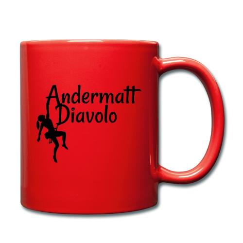 Andermatt Diavolo Uri Geschenkidee - Tasse einfarbig