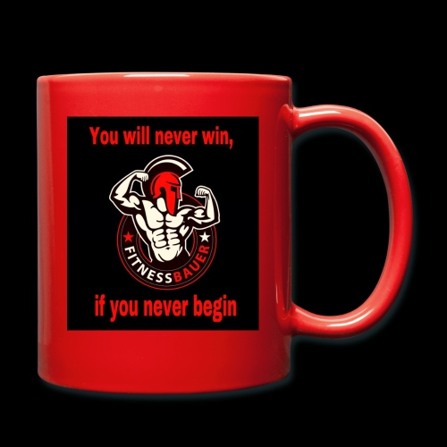 You will never win - Tasse einfarbig