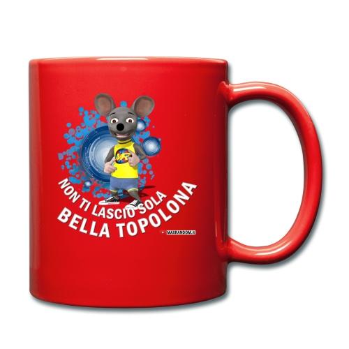 Bella Topolona testo Bianco - Tazza monocolore