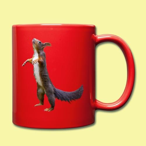 Eichhörnchen Schoko - Tasse einfarbig