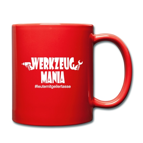 Werkzeug Mania Tasse - Tasse einfarbig