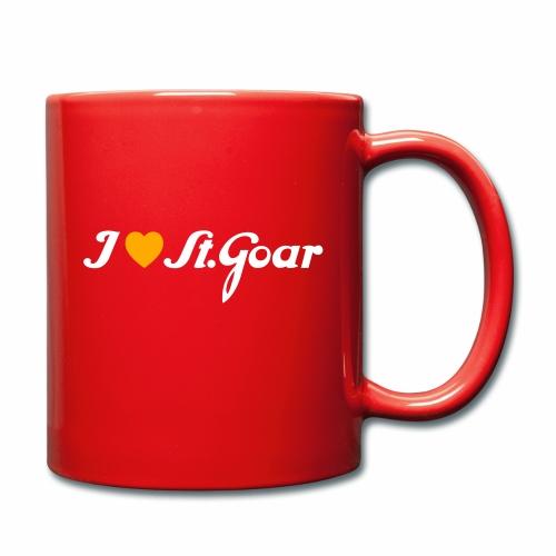 I Love St. Goar - Tasse einfarbig